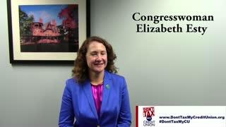 Don't Tax My CU: Interview with Congresswoman Elizabeth Esty