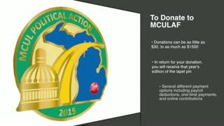 2015 MCULAF Lapel Pin Campaign