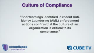 Promoting a Culture of Compliance